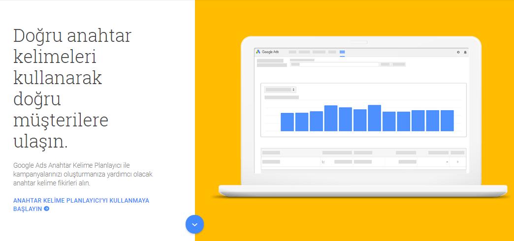 Google Ads AdWords Anahtar Kelime Planlayıcı