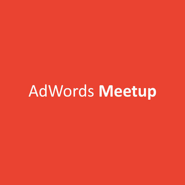 AdWords Meetup