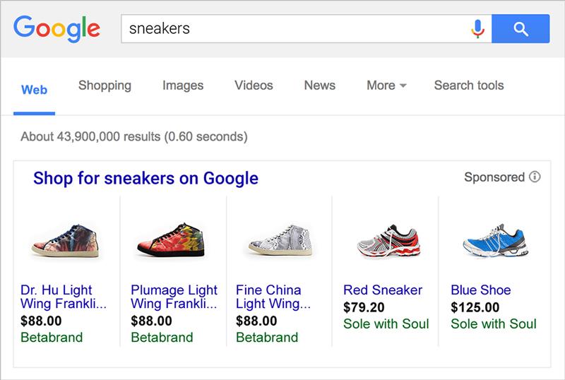 Google Ads AdWords Alışveriş Reklamları