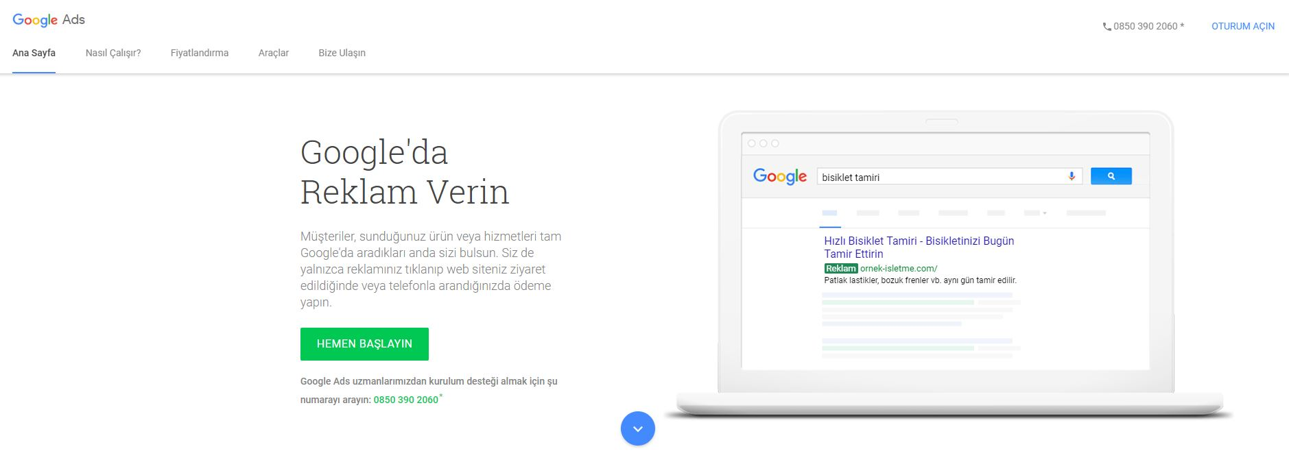 Google Ads Hesabu Kurulumu (AdWords)