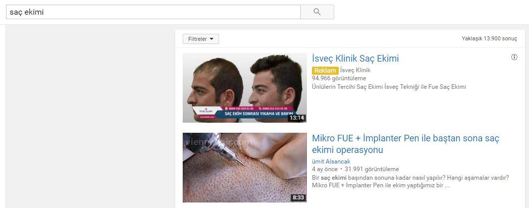 Google AdWords Youtube Video Reklamları