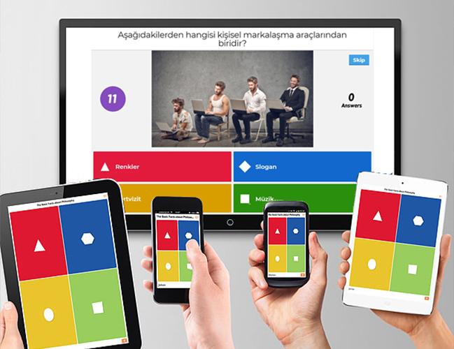Kahoot Online Bilgi Yarışması