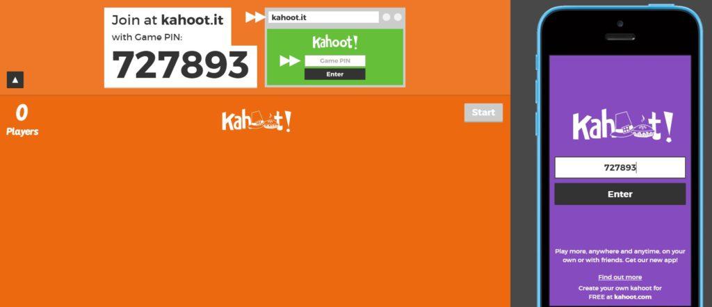 Kahoot Oyuncu Katılım Ekranı