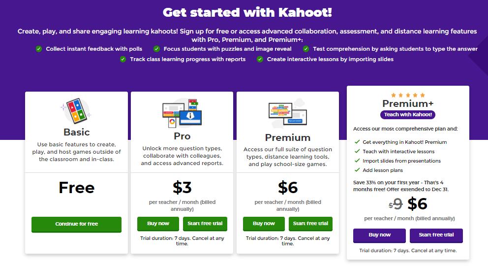 Kahoot Paketleri Ücretsiz