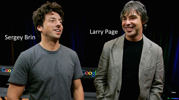 Larry Page Sargey Brin