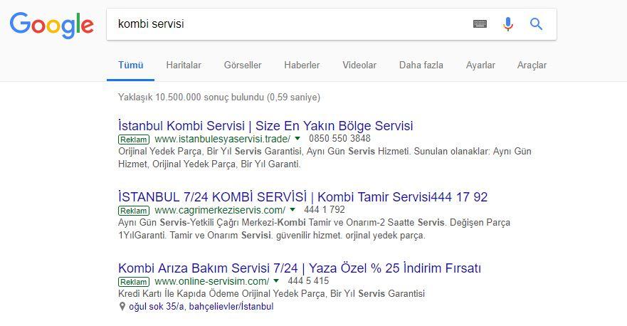 Küçük Esnaf Google Reklam