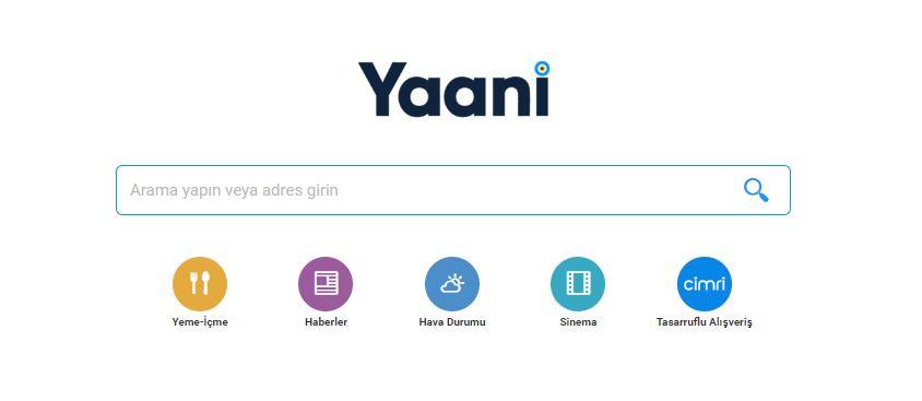 Yaani Arama Motoru