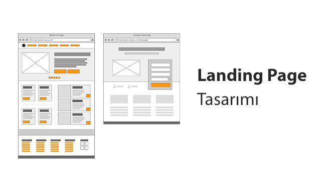 Landing Page Tasarımı