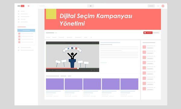 Dijital Seçim Kampanyası Yönetimi