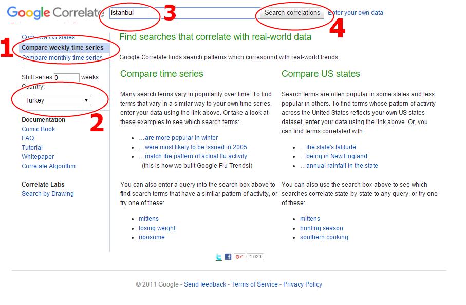Google Correlate 1