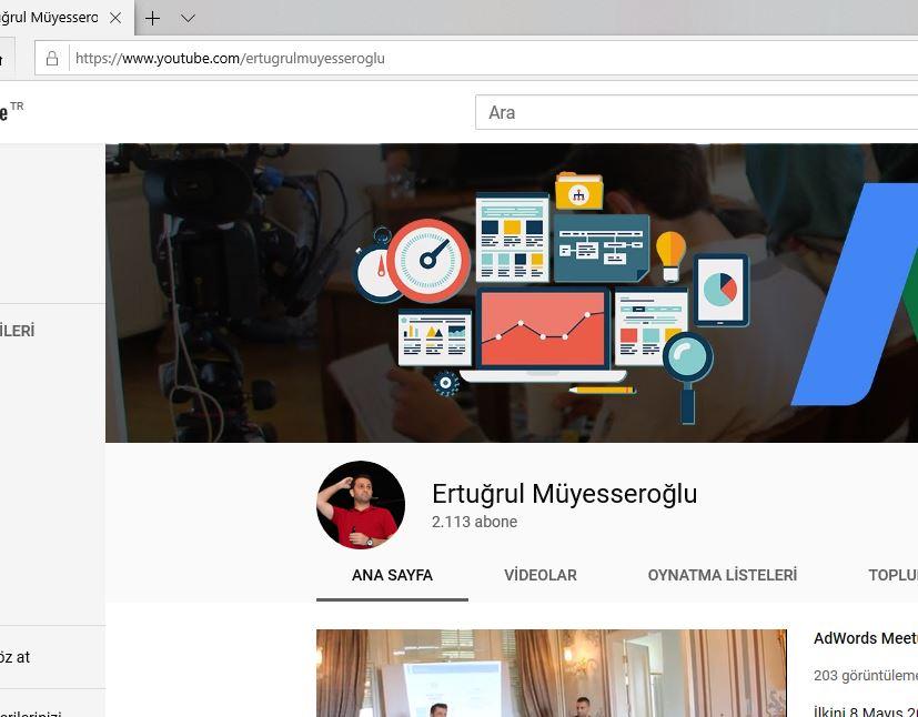 Youtube Kanalı Açmak Kişisel Markalaşma