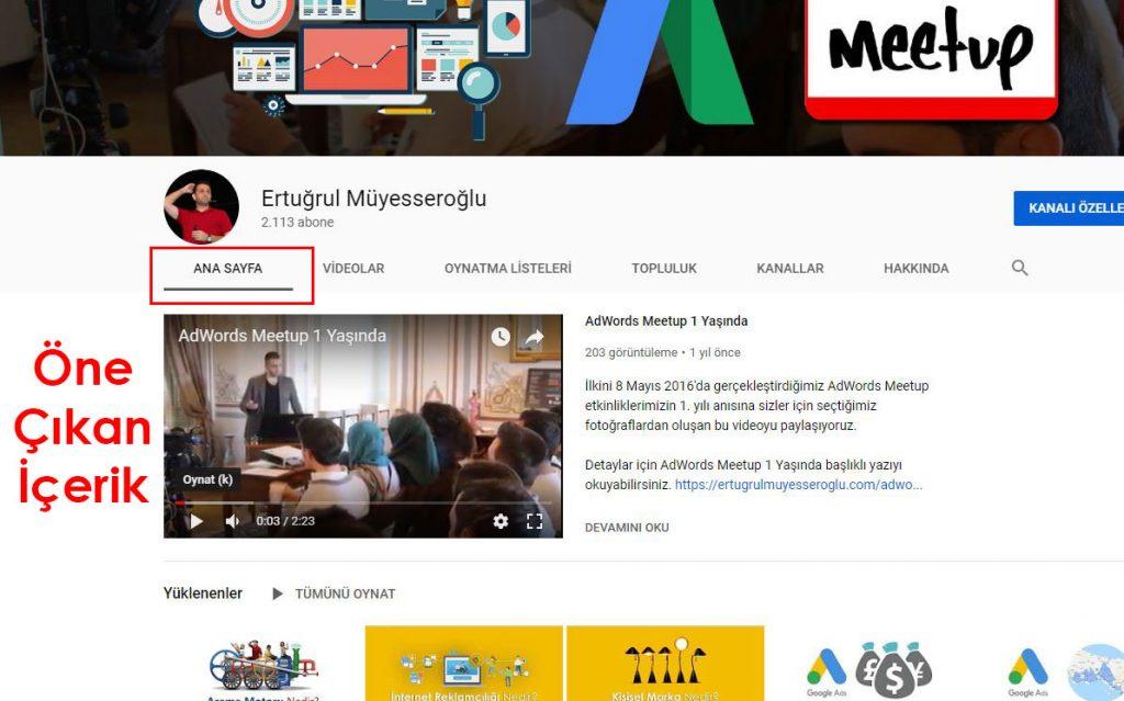 Youtube Kanalı Açma Kişisel Markalaşma