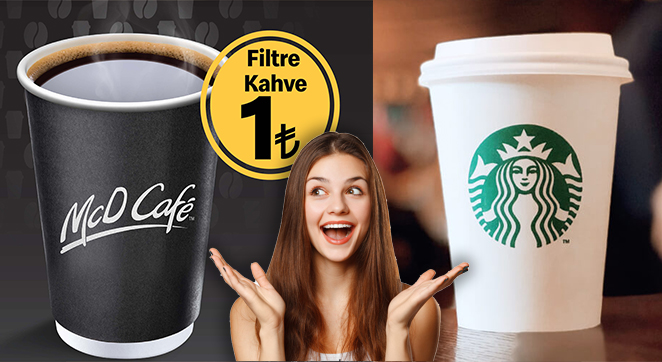 McDonald's Starbucks Kahve Reklamı