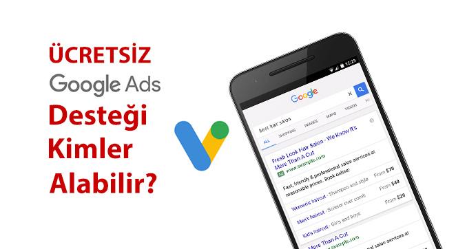 Ücretsiz Google Reklam Desteği