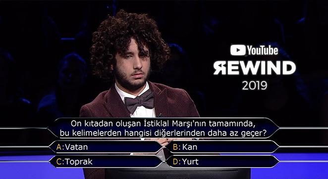 Youtube Rewind Türkiye 2019 Kim Milyoner Olmak İster