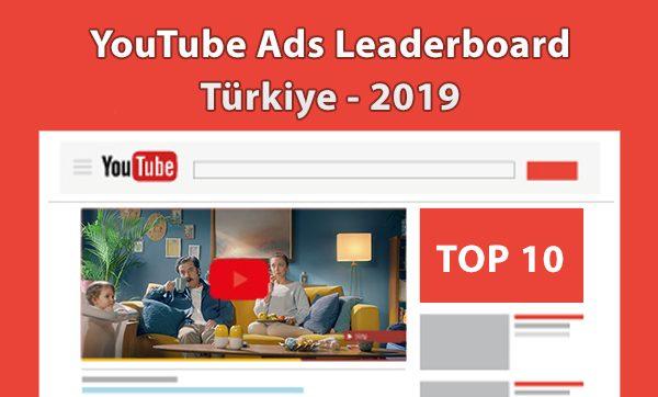 YouTube Ads Leaderboard 2019 Türkiye Sonuçları Açıklandı