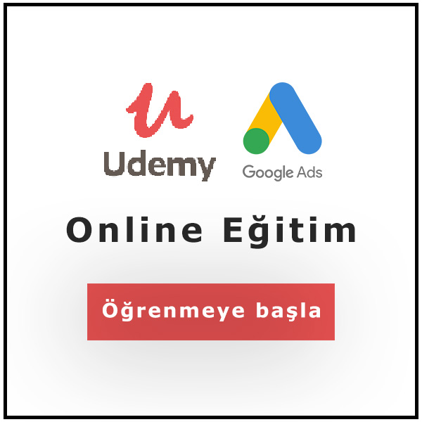 Udemy Google Ads AdWords Eğitimi