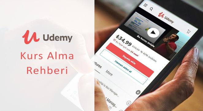 Udemy Kurs Alma Rehberi